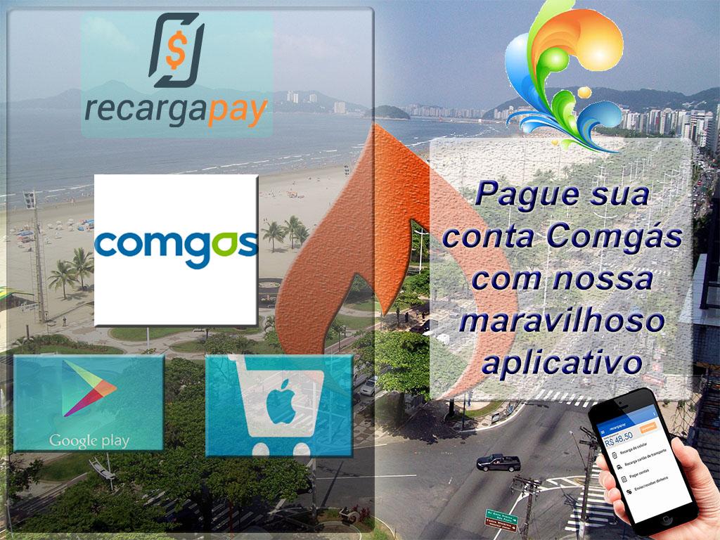 Pague sua conta Comgas com RecargaPay
