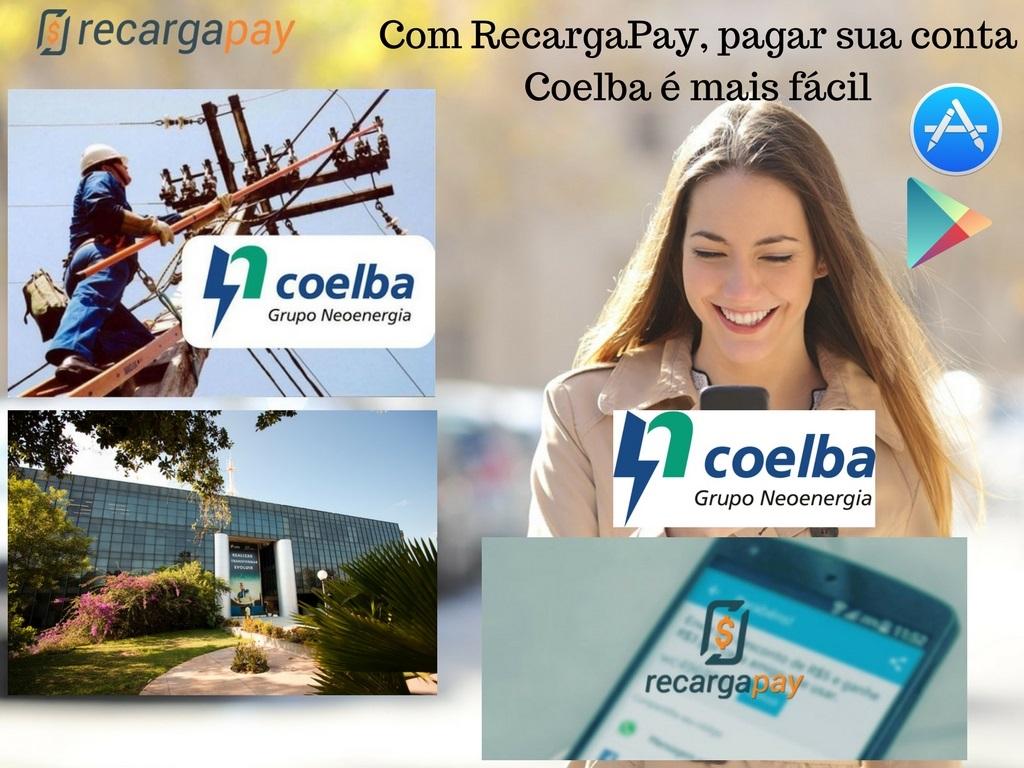 Paga Coelba com Recargapay