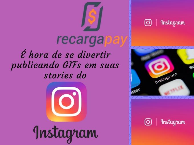 Publicar Gifs em stories do Instagram