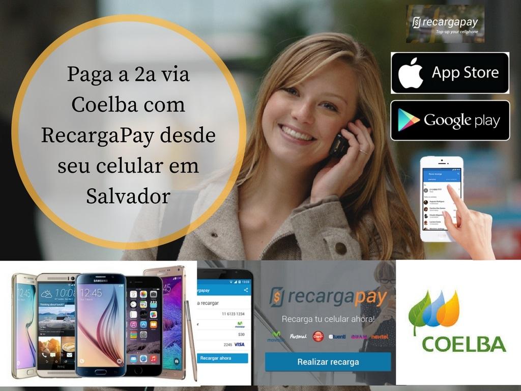 Paga 2a via Coelba com RecargaPay