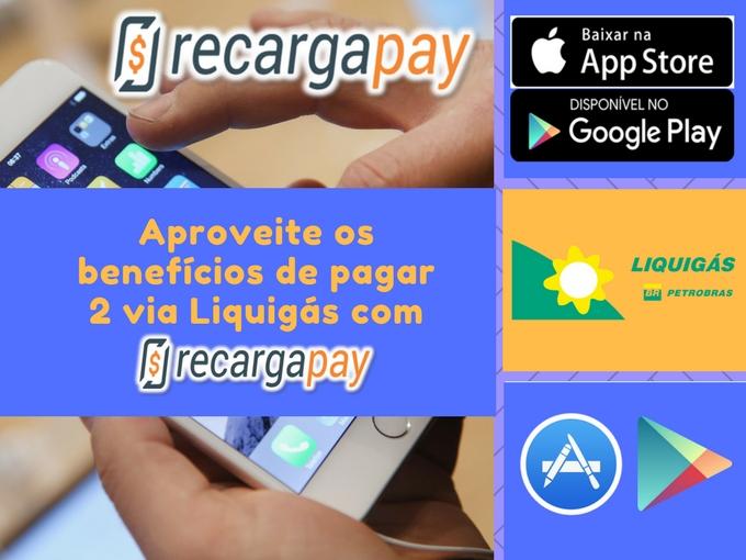 Pagar 2 via con RecargaPay