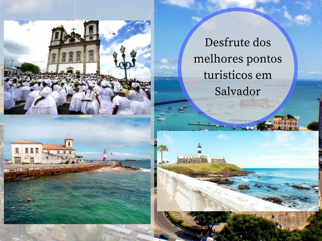 Pontos turisticos em Salvador