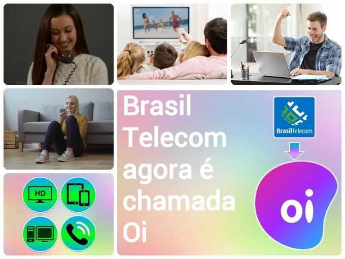 Brasil Telecom agora é chamada Oi
