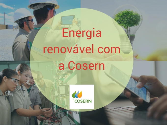 Energía renovável com Cosern