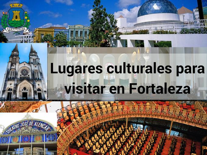 Belos lugares culturales em Fortaleza