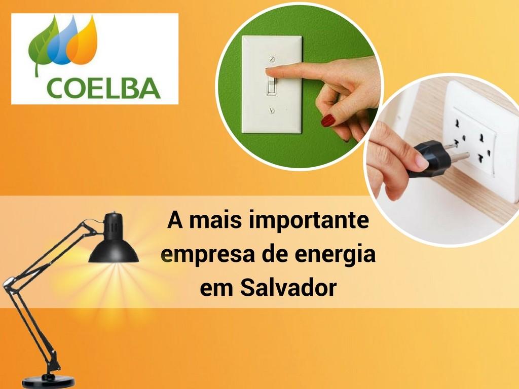 Coelba empresa de energia em Salvador
