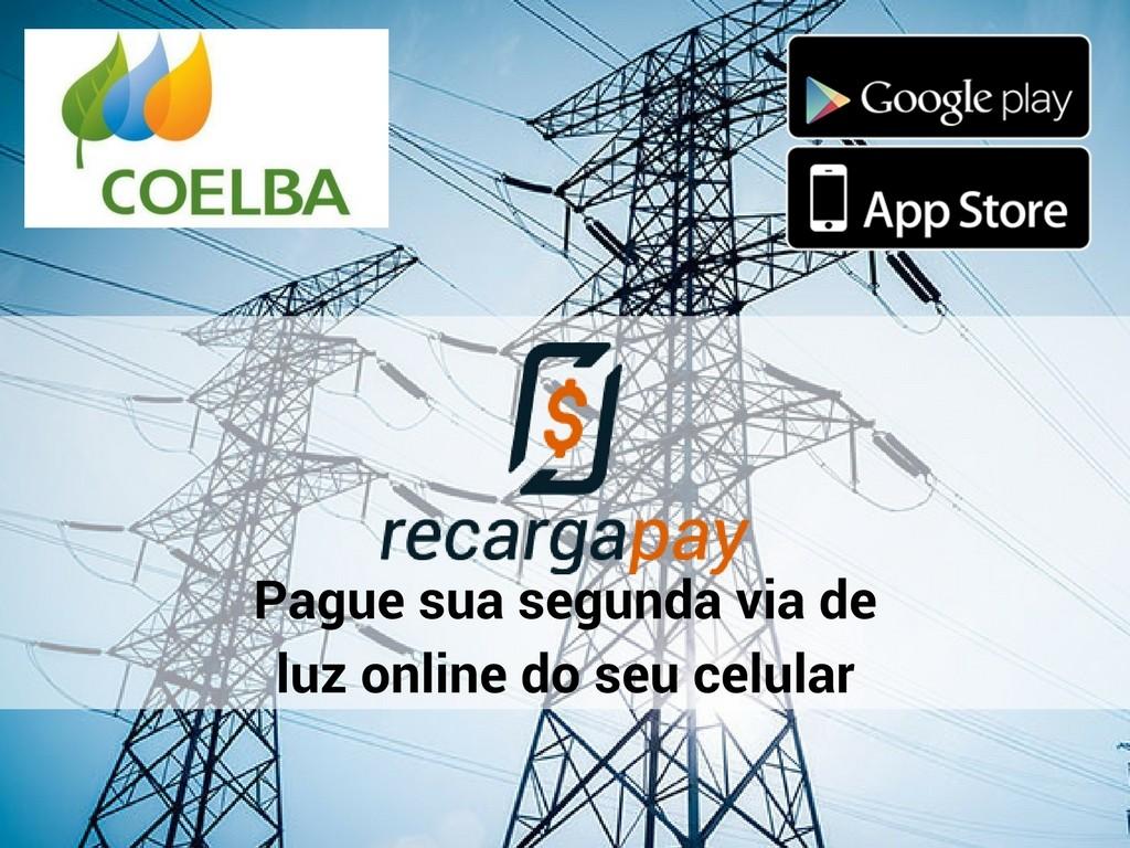 Paga segunda via Coelba com Recargapay