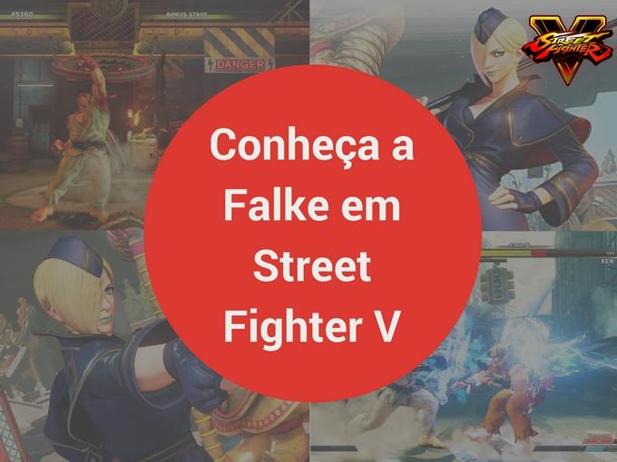 Conheça a Falke em Street Fighter V: Arcade Edition
