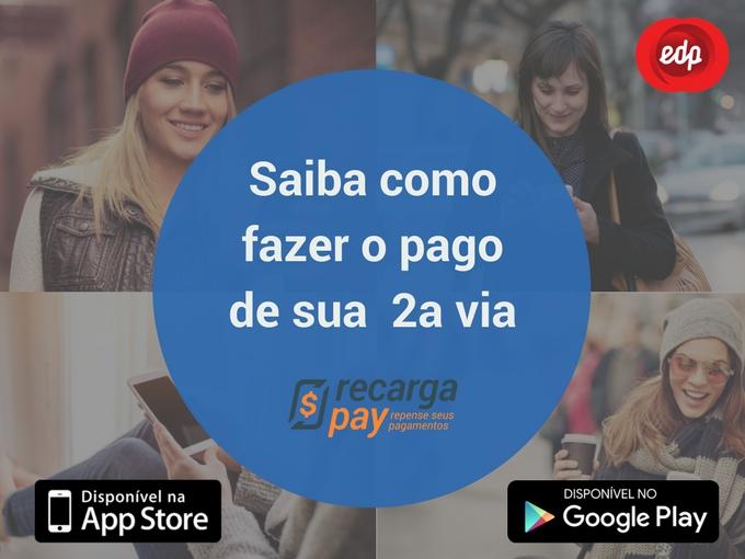 Faça o pagamento do sua segunda via com RecargaPay