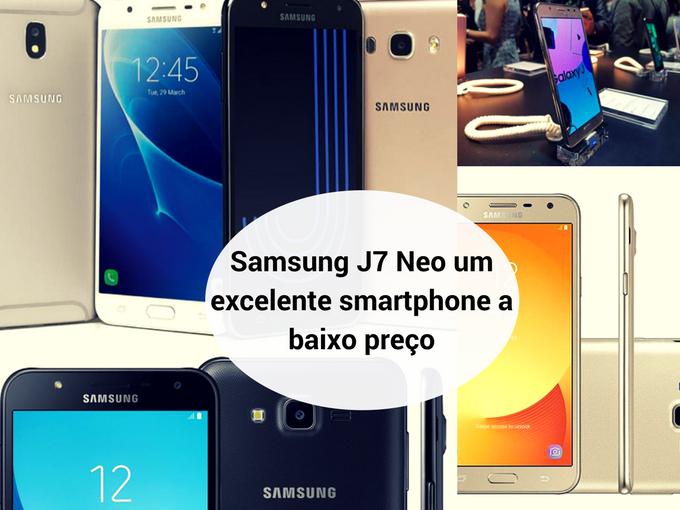 Samsung Galaxy J7 Neo tem tudo