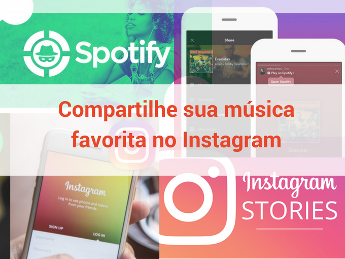 Ouça música no Instagram Stories