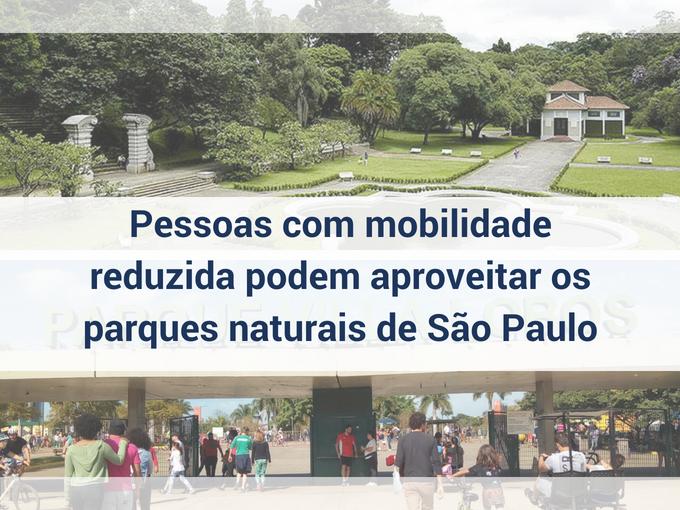Parques naturais para pessoas com mobilidade reduzida