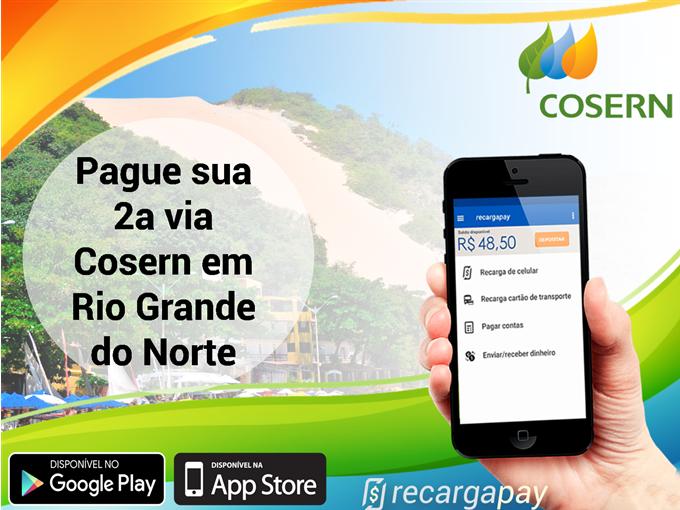Pague sua 2a via Cosern em Rio Grande do Norte