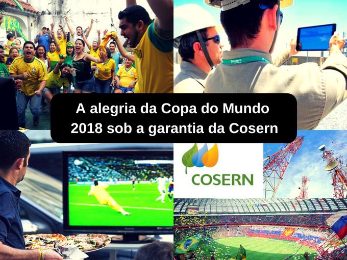 Cosern contribui para garantir a energia elétrica neste mundial
