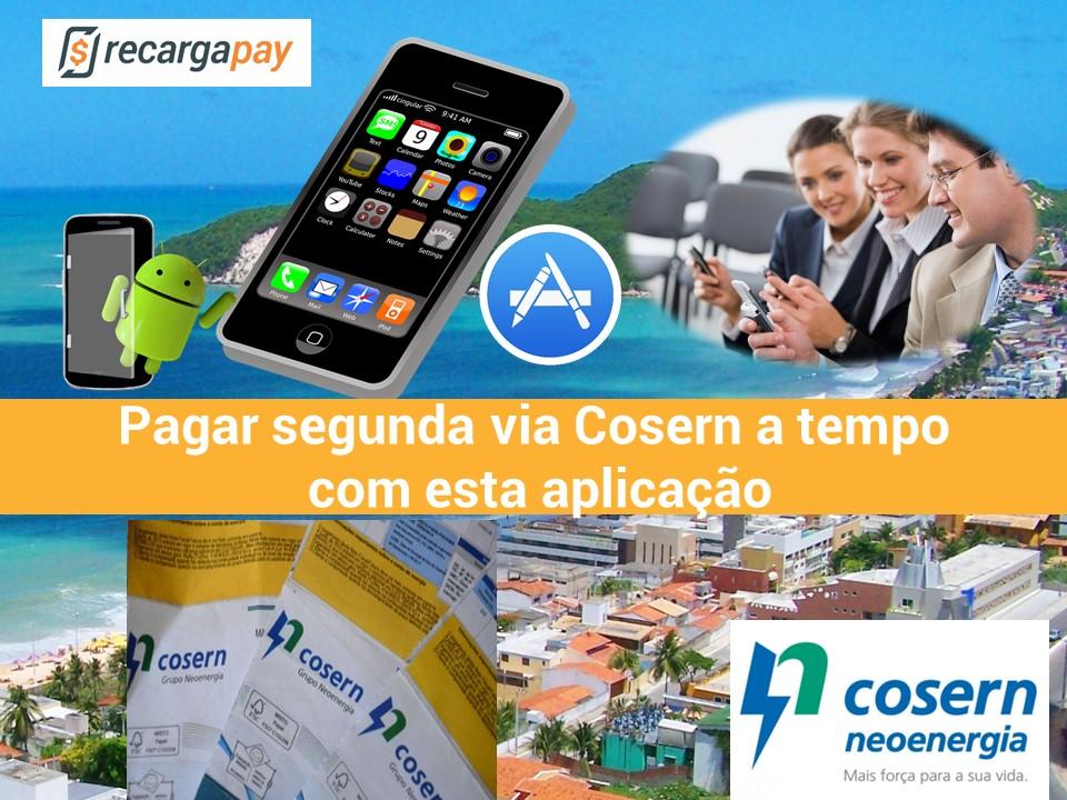 Com nosso aplicativo pague sua conta elétrica Cosern