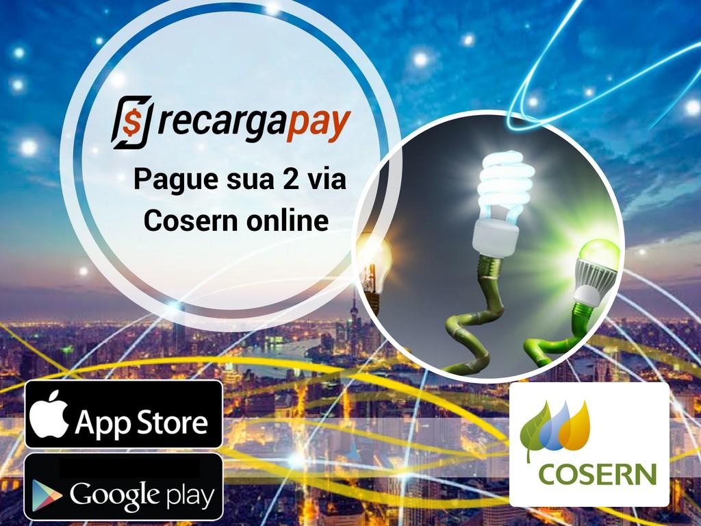 Pague sua 2 via Cosern com Recargapay