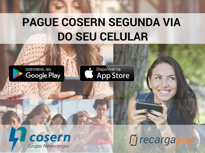 Pague Cosern segunda via do seu celular
