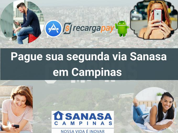 Pagar 2a via Sanasa em Campinas