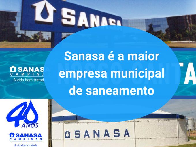 Sanasa se torna a melhor empresa municipal de saneamento do Brasil