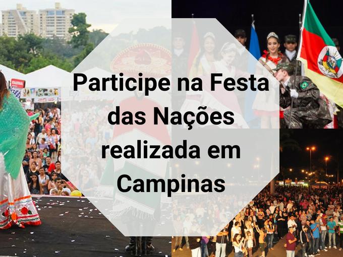 Festa das Nações em Campinas