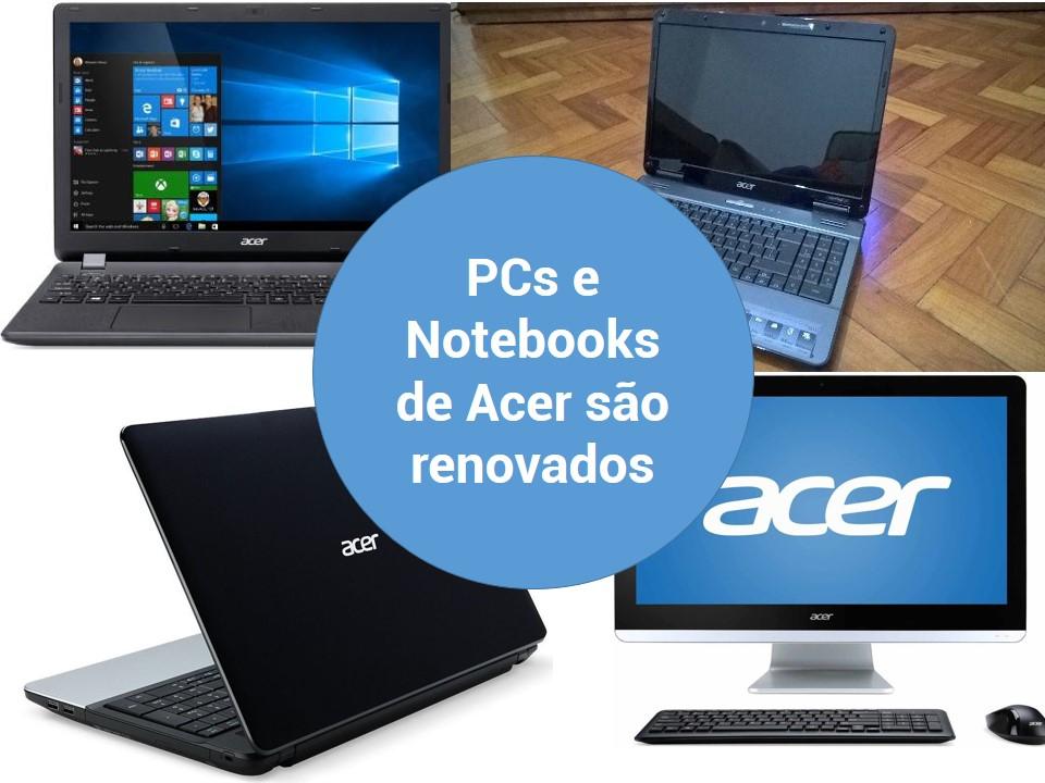 Acer transforma seus notebooks e PCs de Asper