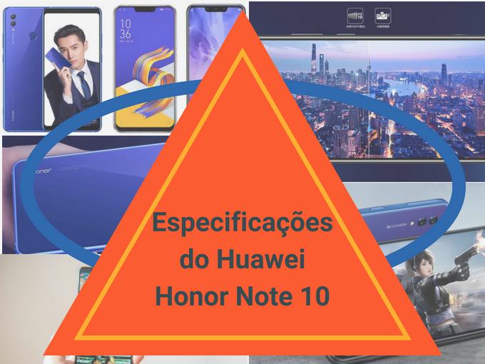 Detalhes do Huawei Honor Note 10
