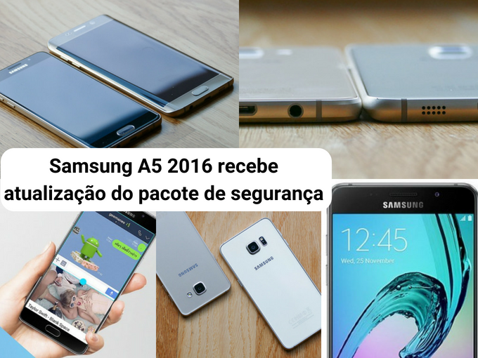 Atualizações para o equipamento Samsung 2016