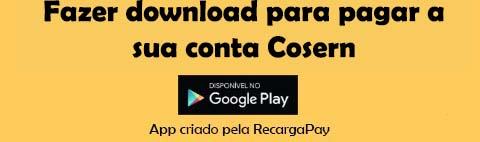 Fazer download pagamento Cosern