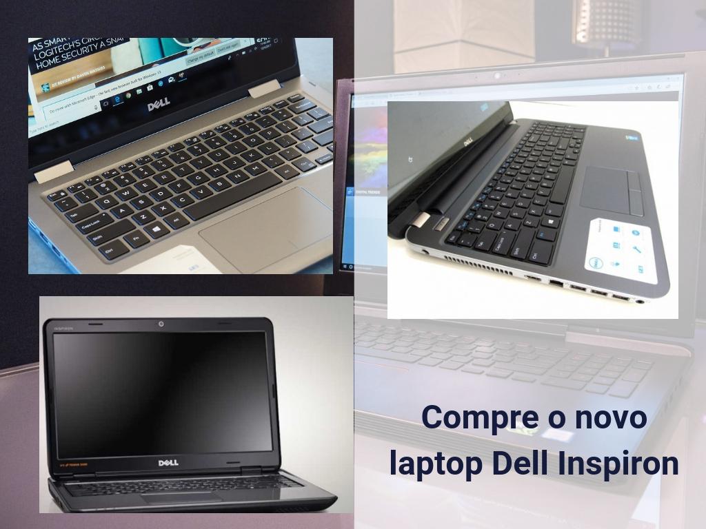Compre o novo laptop Dell Inspiron