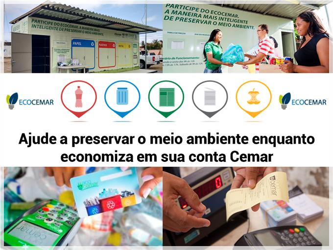 Ajude a preservar o meio ambiente enquanto economiza em sua conta Cemar