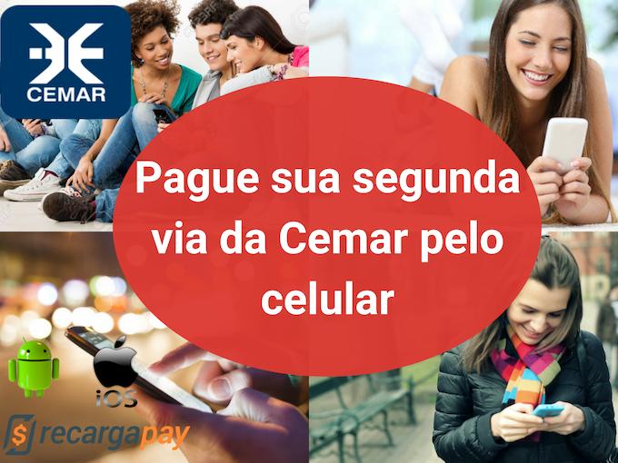 Pague 2 via Cemar pelo celular