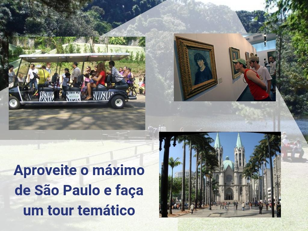 Aproveite o máximo de São Paulo e faça um tour temático