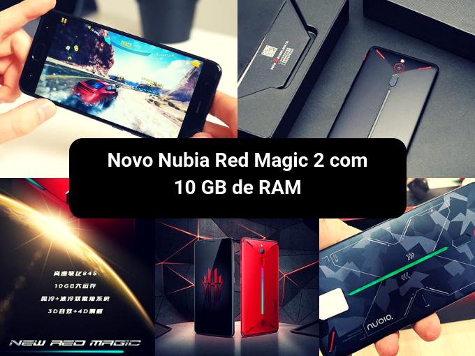Nubia Red Magic 2 aumenta a tendência da telefonia gaming