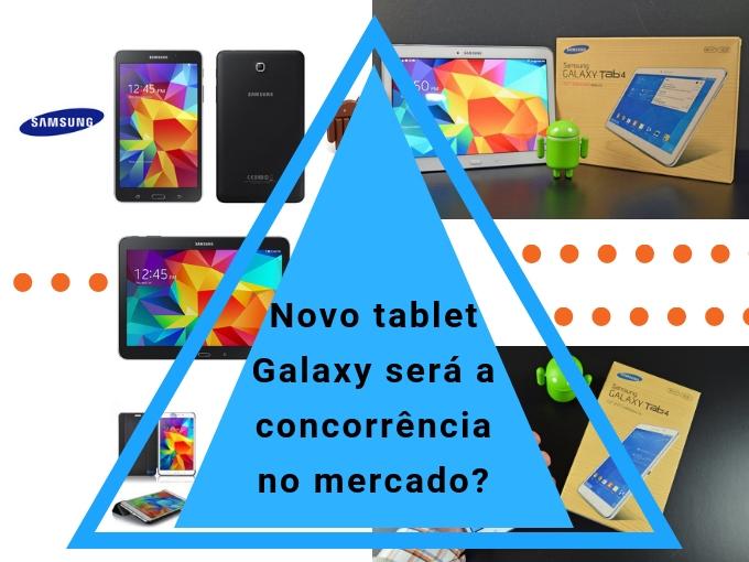 Detalhes do novo Samsung Galaxy Tab 4