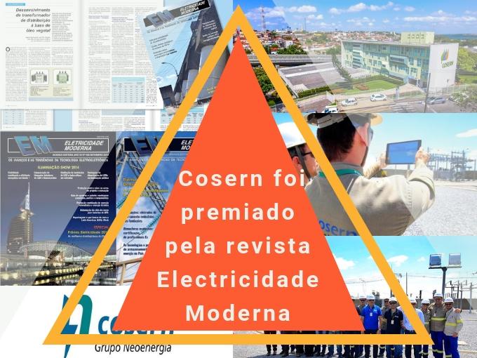 Cosern foi premiado pela revista Eletricidade Moderna