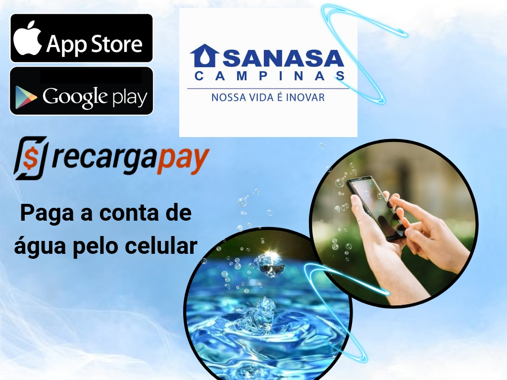Paga conta Sanasa com Recargapay