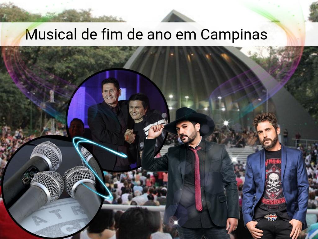 Musical de fim de ano em Campinas