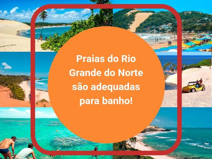 Desfrute de um banho nas praias do Rio Grande do Norte!