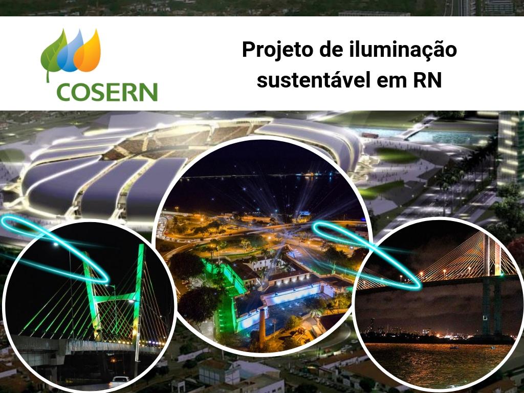 Projeto de iluminação de Cosern em RN