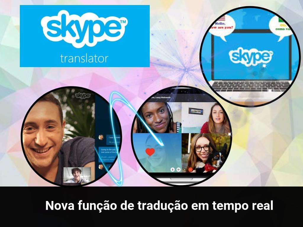 Nova função de Skype