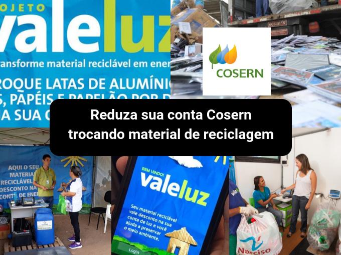 Cosern promove reciclagem com descontos