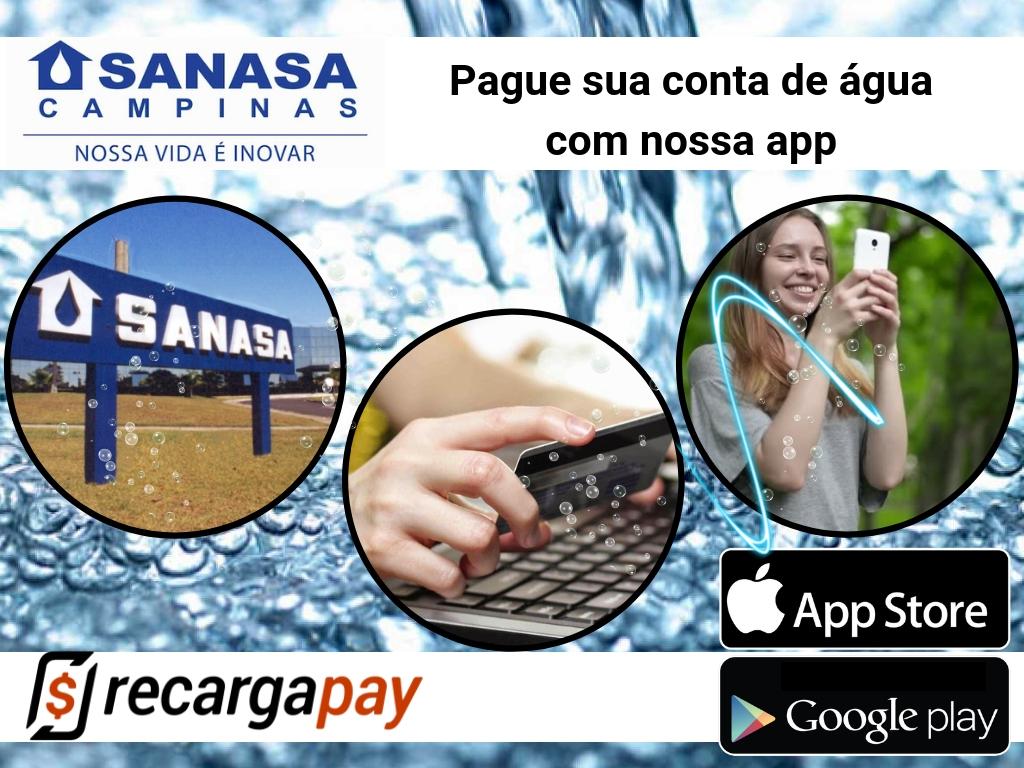 Usa Recargapay para pagar conta de Sanasa