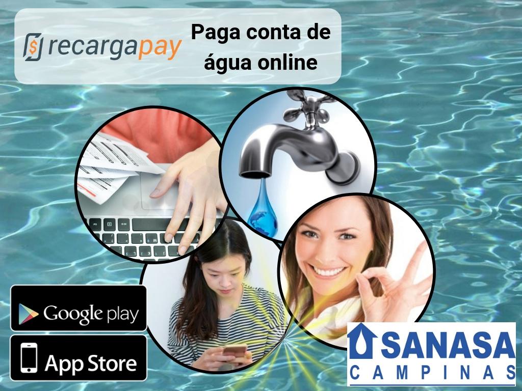Pague sua Sanasa 2 via de conta vencida com Recargapay