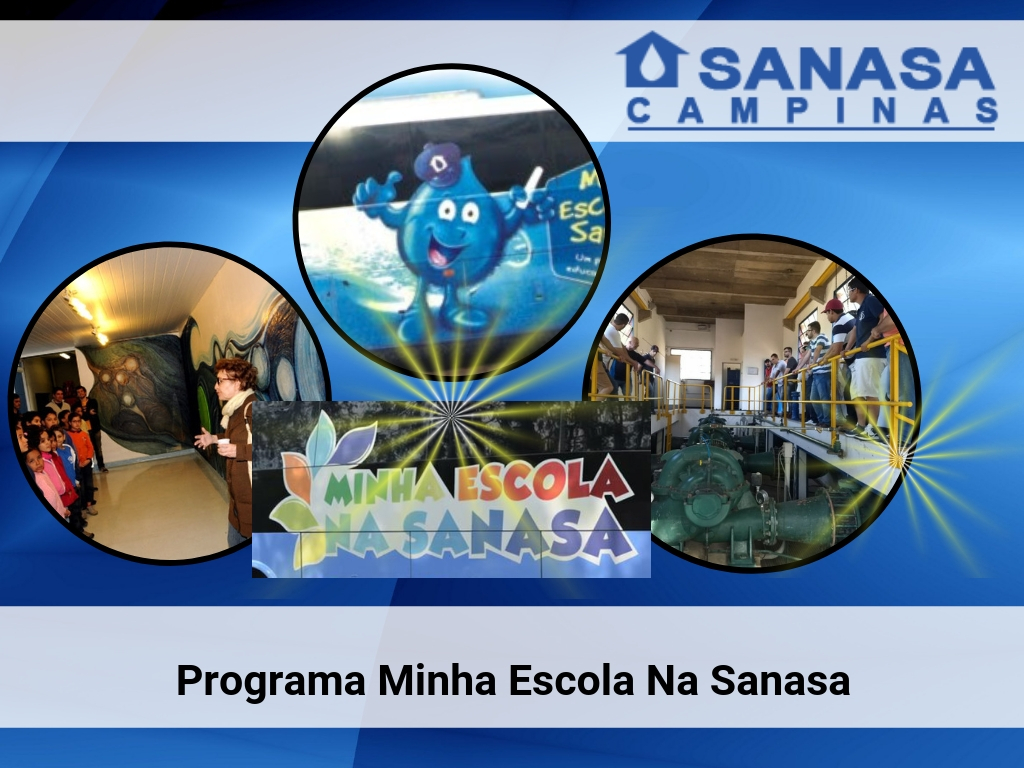 Programa Minha escola na Sanasa