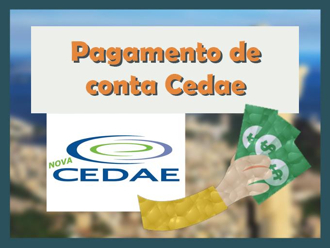 Pagamento de conta Cedae