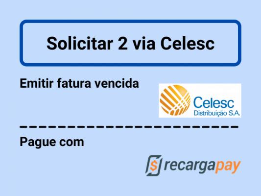 Solicitar 2 via Celesc
