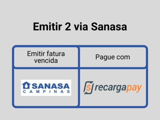Emitir 2 via Sanasa