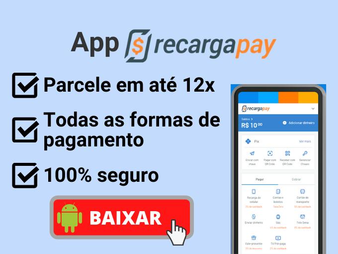 Baixe nosso aplicativo RecargaPay