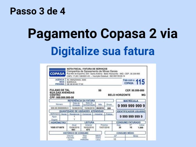 Digitalize sua fatura