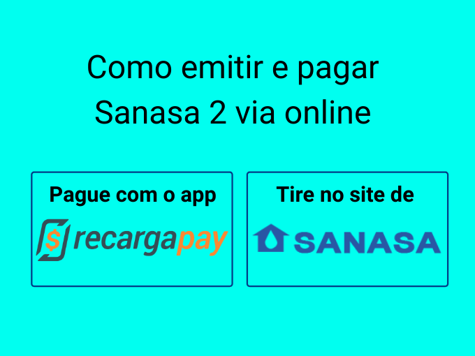 Como emitir e pagar Sanasa 2 via online